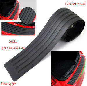 1Pcs Accessories Car Rubber Rear Guard Bumper Protector Trim Cover As Gift
