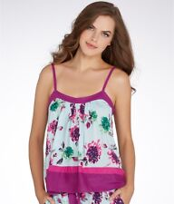 DKNY Woven Floral sleep Cami Top Purple X-Large NWOT