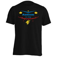 Autism Is My Superpower Strike Men's T-Shirt/Tank Top j294m