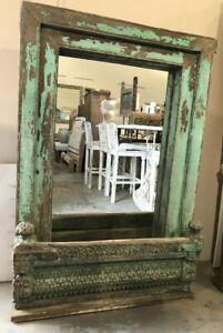 NEW Old Indian village window mirror