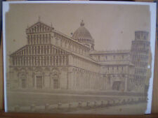 SALT PRINT/PAPIER SALÉ ( VAN LINT ) PISA CATHEDRAL & TOWER ca. 1860/TOUR DE PISE