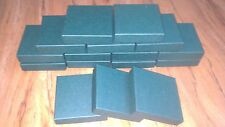 pack 10 9cm square Premium Quality Green COASTER BOXES jewellery gifts coaster