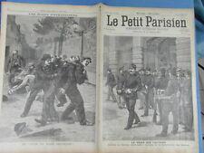 LE PETIT PARISIEN 1899 : 538 - ETRANGLEURS STRANGLERS COUP DU PERE FRANCOIS