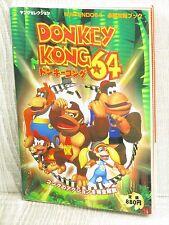 DONKEY KONG 64 Guide Nintendo 64 Book JN88