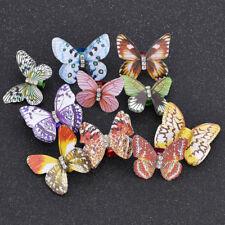 Dreadlock Künstlich Schmetterling Schön 10 Stück Zufällig Dame Mädchen Geschenk