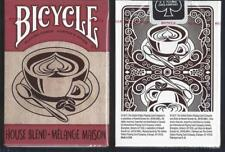 1 DECK Bicycle House Blend playing cards FREE USA SHIPPING