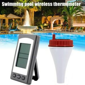 Wireless Indoor and Outdoor Solar Power Floating Pool Water & Spa Thermometer