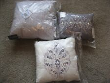 3 New Eva Longoria Home Decorative Pillows: Shades of Purple Lavender 3 Sizes