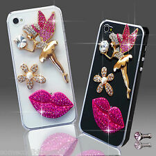 NEW 3D DELUX COOL LUXURY BLING ANGEL DIAMANTE CASE FOR IPHONE SAMSUNG SONY HTC