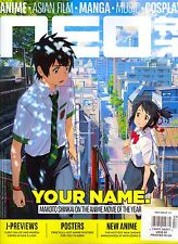 NEO Magazine #157 Winter 2016 ANIME-Asian Film-MANGA-Music-COSPLAY-Posters!