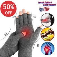 Arthritis Hand Compression Gloves Hand Wrist Brace Relief Carpal Tunnel Pain US