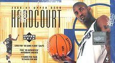 2000-01 Upper Deck Hardcourt Basketball Sealed Hobby Box