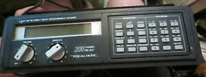 Realistic Modl Pro-2021 Programmable 200 Channel Scanner AM/FM Monitor Receiver
