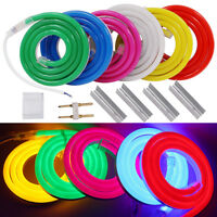 1m-100m 12V 2835 120leds/m LED Neon Flex Light Strip Tube Lamp IP67 Outdoor