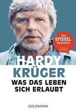 Was das Leben sich erlaubt von Hardy Krüger senior (2017, Taschenbuch)