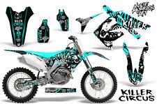 Honda CRF250R Dirt Bike Graphic Sticker Kit Decal Wrap MX 2010-2013 CIRCUS MINT
