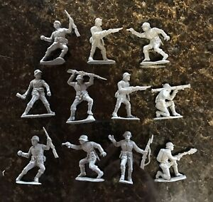 11 VHTF Vintage Lido WWII German Soldiers. Pristine and Intact!💯