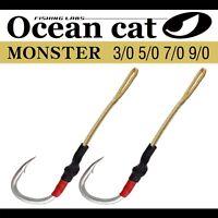 Ocean Cat Assist Hooks SJ-51 Monster Stinger Jigging Slow Size 3/0,5/0,7/0,9/0
