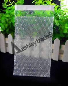 "50-100pcs Self Seal Bubble Packing Envelopes Cushioning Bag 5.5""x6""_140x150+25mm"