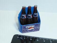 1:12 Scale 3 Bottles Pepsi  fixed  Dolls House  Pub Drink