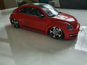 Vw New Beetle 1/18 Tuning Welly Modified volkswagen