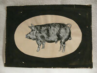 Norbert Fleischer Maler Original Zeichnung Kunstwerk Unikat Einzelstück