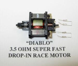 """TYCO SLOT CAR - 3.5 OHM """"DIABLO"""" PRO DROP-IN RACE MOTOR,*WICKED FAST!/Tomy, BSRT"""