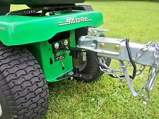 "Riding Mower Hitch, Made in the USA! Free 2"" Chrome Ball! 1/4"" Steel Plate"