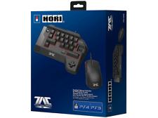 Teclado - Para PS3, PS4 y PC, Teclado y ratón, USB, Negro