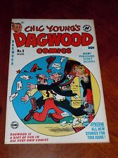 Dagwood #9 (1951) Vf+ (8.5) cond. Harvey Comics Popeye Blondie Little Iodine