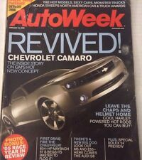 AutoWeek Magazine Chevrolet Camaro Rolex  24 Preview January 16 2006 080317nonrh