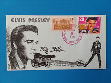 Mike Stoller ELVIS Songwriter Signed Autographed  ELVIS Postal Cover RARE !