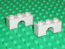 LEGO OldGray Light Gray Brick Arch 1x3 Ref 4490 Set 6041 5195 6086 6085 6066