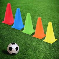 24Pcs Training Cones Soccer Football Agility Marker Marking Sports Cone USA