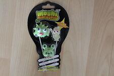 Moshi Monster GLOW IN THE DARK HALLOWE'EN 3 FIGURE PACK BLURP ROCKY SCAMP