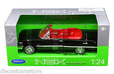 WELLY 1963 CHEVROLET IMPALA CONVERTIBLE  BLACK  1/24 DIECAST CAR 22434W-BK