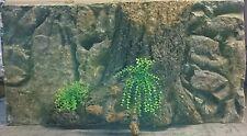 "3D background for aquarium decoration, 47""L x 24"" H for 48"" long or bigger tank"