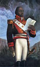 Général Toussaint Louverture Haïti REVOLUTION 7x4 pouces Imprimer