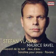 RAVEL: GASPARD DE LA NUIT; JEUX D'EAU; SONATINE POUR PIANO; PAVANE NEW CD