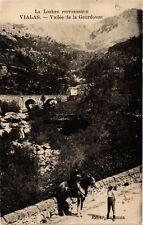 CPA  Vialas - Vallée de la Gourdouze  (638461)