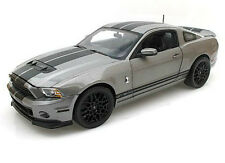 Shelby Collectibles 1/18 Scale 2013 Ford Mustang Shelby GT500 Grey Diecast SC395