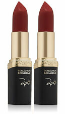 (2 each) L'Oreal Color Riche Collection Exclusive Reds Lipstick, Zoes Red