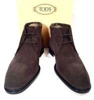 "TOD'S ""POLACCO GEORGE"" Schuhe Stiefeletten Shoes Boots braun brown Leder NEU BOX"