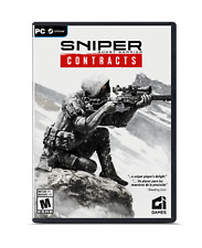 SNIPER GHOST WARRIOR CONTRACTS  PC STEAM.RATED M. BRAND NEW. FACTORY SEALED