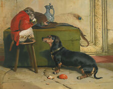 Landseer Henry Edwin Sir A Badger Dog Print 11 x 14 #  #3212