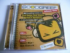 Goodgreef Album 2 Cd Hard House Dance Tech Trance Techno Hardstyle Rob Tissera