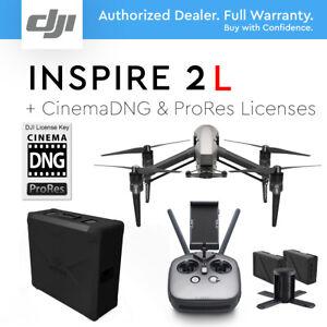DJI INSPIRE 2 (L) Drone Cinema DNG & Apple ProRes Licenses