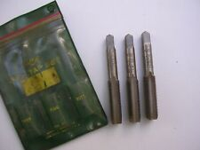 New Set of 3 Ace Hanson 1/2-20 NF Taps USA Made Threading Tapping
