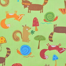 Animal Party Too Earth Animals by Amy Schimler for Robert Kaufman, 1/2 yd fabric