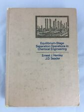 Equilibrium Stage Separation Operations in Chemical Engineering Henley 1981 M1